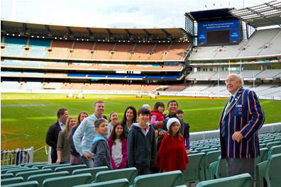 MCG TOUR EXPERIENCE WITH CRICKETER