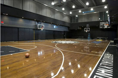 Brooklyn Nets Practice Court Experience