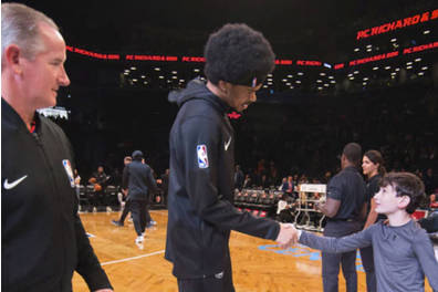 Brooklyn nets captain's huddle experience
