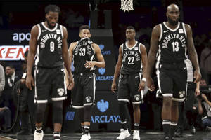 Brooklyn Nets perform on the court2