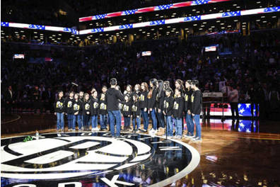 Brooklyn Nets National Anthem Experience