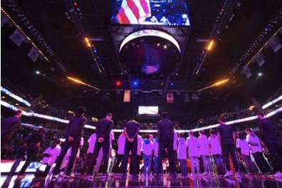 Brooklyn Nets Anthem Buddies Experience