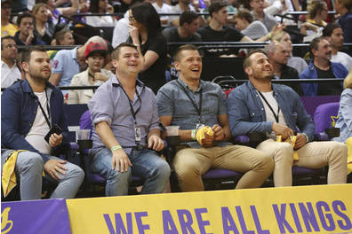 Sydney Kings Courtside Seats Experience