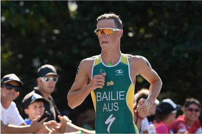 Triathlete Ryan Bailie at your next event