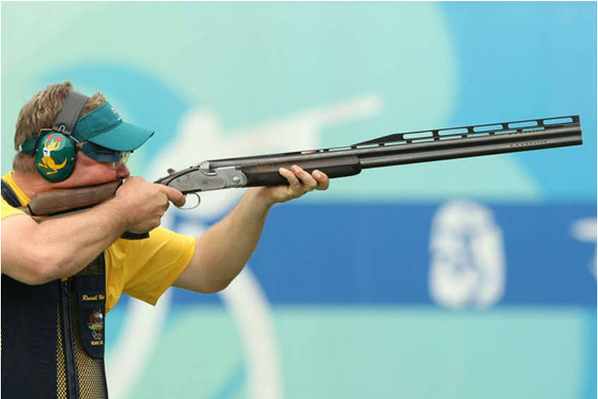 Olympian Russell Mark Shooting Experience0