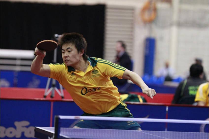 Olympian Heming Hu Table Tennis Experience1