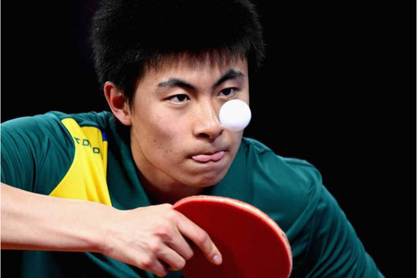 Play with a table tennis Olympian!0