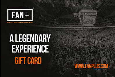 FAN+ Sporting Experience Gift Card