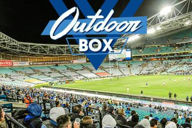 Canterbury Bankstown Bulldogs Outdoor Box