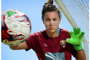Goalkeeping Session with MacKenzie Arnold0
