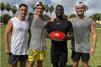 Aussie Rules Josh Dunkley Experience