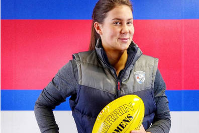 Aussie rules Libby Birch Experience