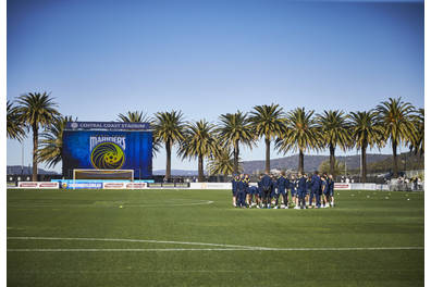 Attend Central Coast Mariners Football Club training session