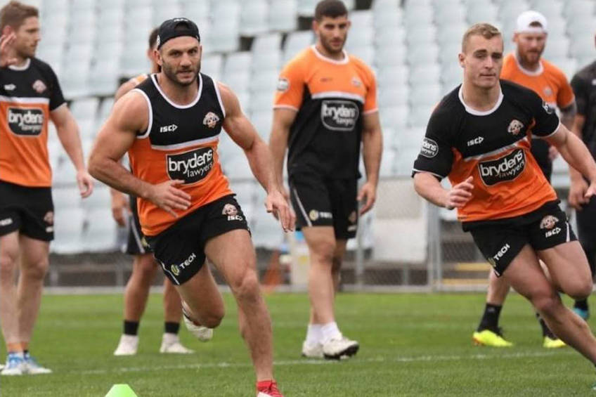 Corporate Experience with the Wests Tigers0
