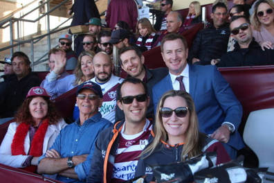 Manly Sea Eagles Open Air Box Experience