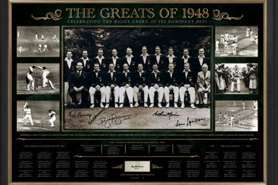 THE INVINCIBLES SIGNED 'GREATS OF 48'