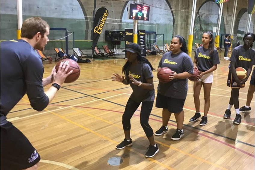 Charity Bounce Basketball Coaching Clinic2
