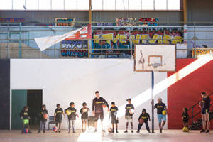 Charity Bounce Basketball Coaching Clinic0