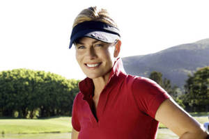 Golf Round with Deborah Hutton0