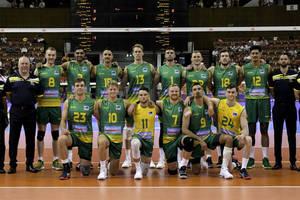 Australian Volleyball Team Signed Singlet2