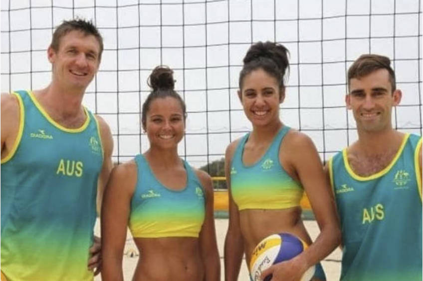 Volleyball session at your school or event0