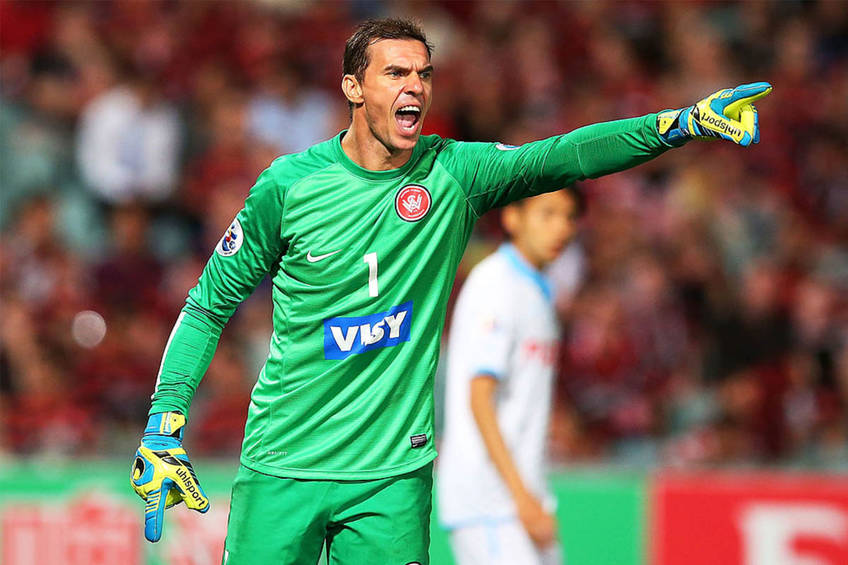 Former Socceroos Ante Covic Goalkeeping Session0