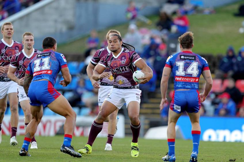 10. Martin Taupau Player-Issued Indigenous Jersey0