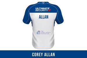 Corey Allan SIGNED JERSEY0