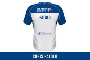 Chris Patolo SIGNED JERSEY0