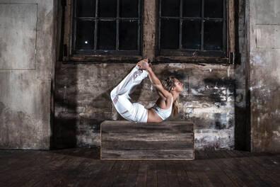 Olympian Stephanie Magiros Yoga Experience