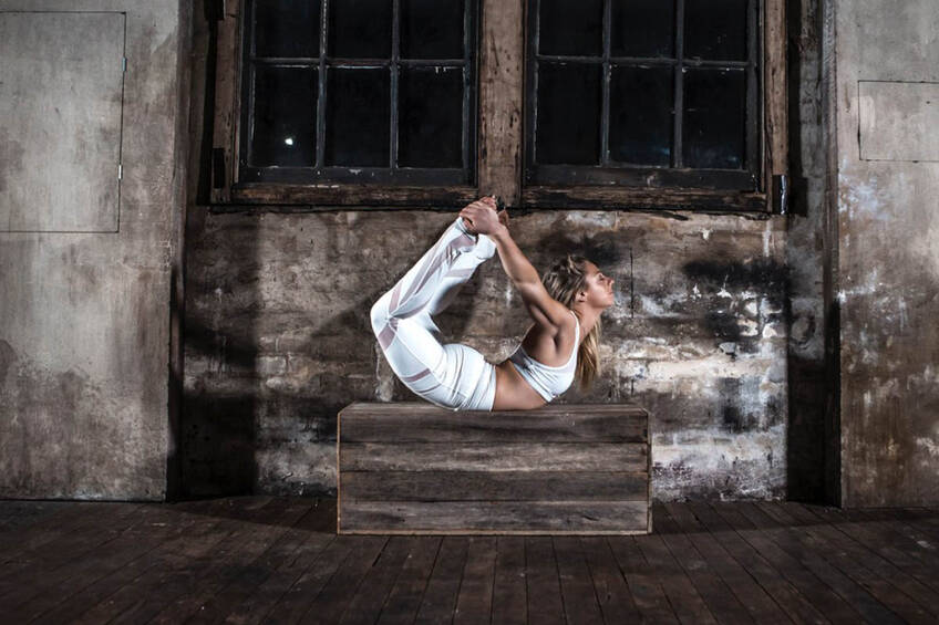 Olympian Stephanie Magiros Yoga Experience0