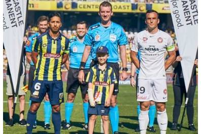 Toss a coin at a Central Coast Mariners FC home game