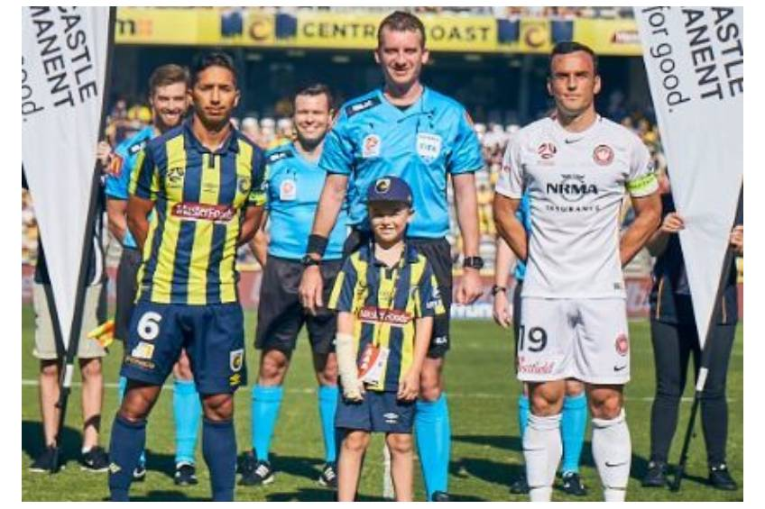 Toss a coin at a Central Coast Mariners FC home game0
