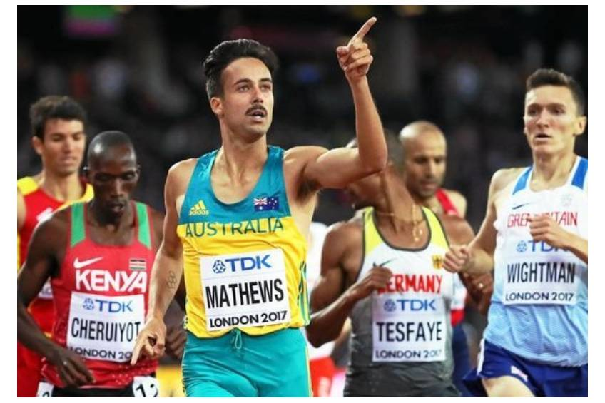 Track and Field Training Session with Luke Matthews0