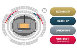 Boomers V USA Basketball - Marvel Stadium Melbourne -Diamond Club Package – Courtside1