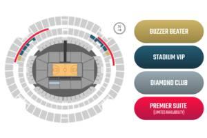 Boomers V USA Basketball - Marvel Stadium Melbourne - Premier Suite1