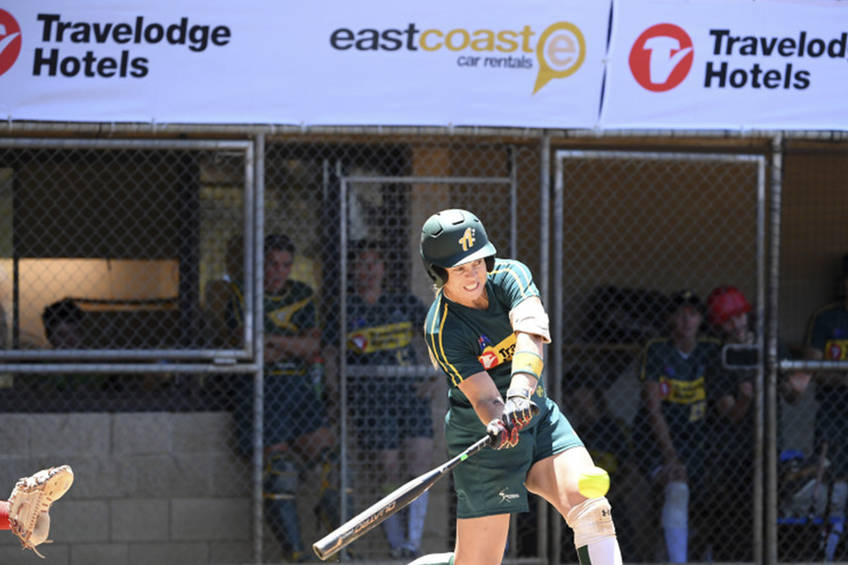 BATTING CLINIC: SOFTBALL AUSTRALIA EXPERIENCE0