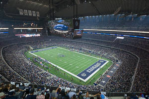 Tour AT&T Stadium, the official Home of the World Famous Dallas Cowboys, with a Cowboy Legend0